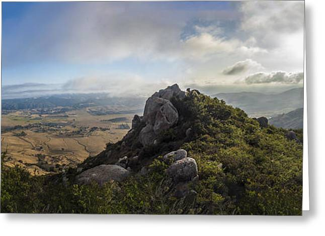 Bishop's Peak Greeting Card by Jeremy Jensen