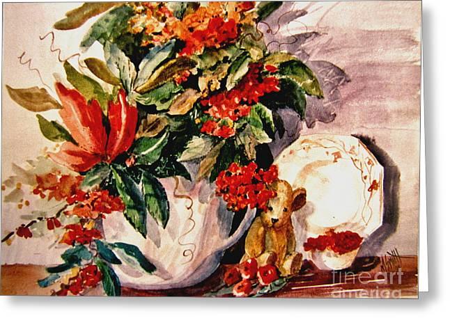 Bittersweet Paintings Greeting Cards - Bittersweet Memories Greeting Card by Marilyn Smith