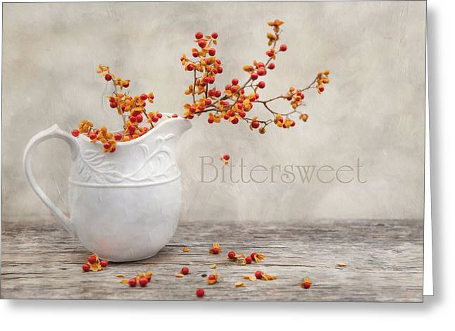 Bittersweet Photographs Greeting Cards - Bittersweet Greeting Card by Robin-lee Vieira