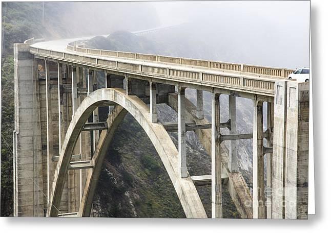 Bixby Bridge Greeting Cards - Bixby Bridge Greeting Card by Mariusz Blach