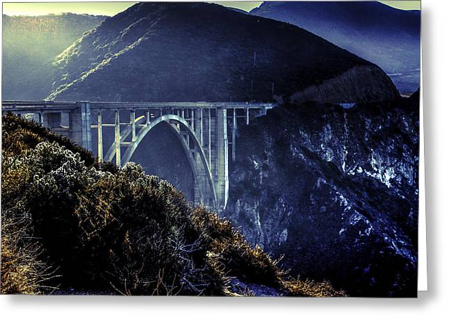 Big Sur Greeting Cards - Silver Sunrise Greeting Card by Infocus Creations