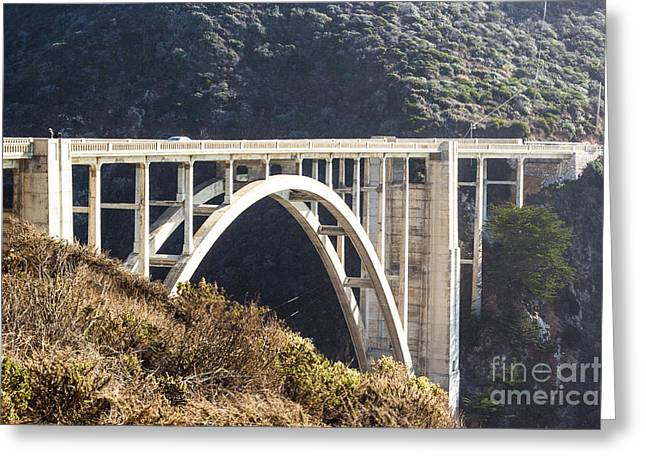 Bixby Bridge Greeting Cards - Bixby Bridge Greeting Card by Suzanne Luft