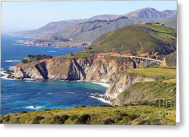 Bixby Creek Bridge Greeting Card by Jack Schultz