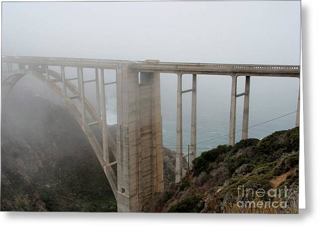 Bixby Bridge Greeting Cards - Bixby Creek Bridge Greeting Card by Marie Sager