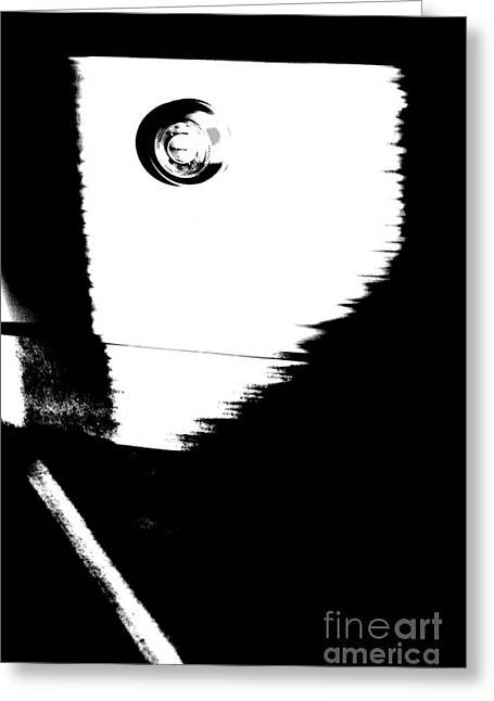 Thermostat Greeting Cards - Black And White Heat Greeting Card by Steven Macanka