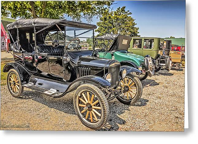 Ford Model T Car Greeting Cards - Ford Model T Greeting Card by LeeAnn McLaneGoetz McLaneGoetzStudioLLCcom