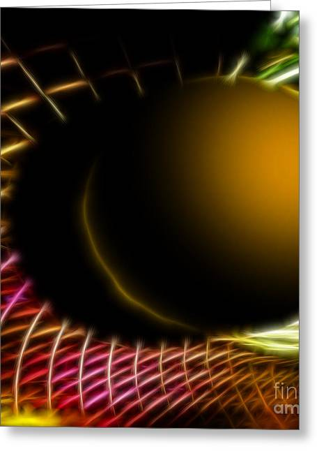 Office Space Greeting Cards - Black Hole Greeting Card by Cheryl Young
