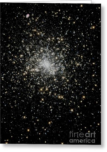 Schwarzes Loch Greeting Cards - Black Hole  Greeting Card by Martina Fielding