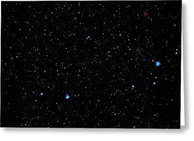 Black Holes Greeting Card by Nasa/jpl-caltech/yale University