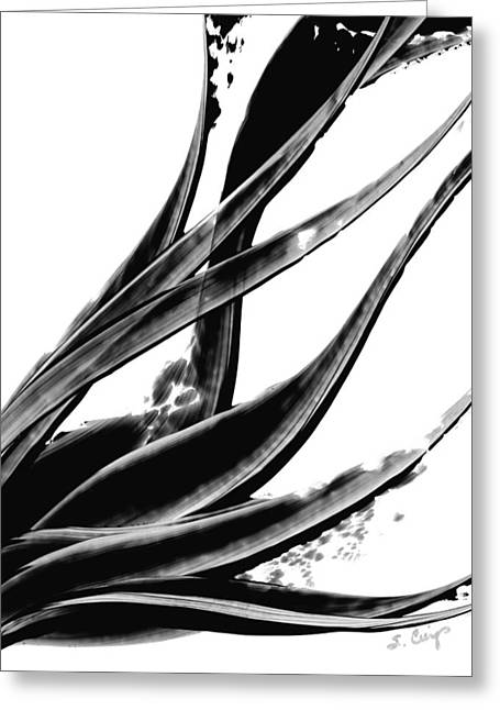 Wall-hanging Paintings Greeting Cards - Black Magic 303 by Sharon Cummings Greeting Card by Sharon Cummings