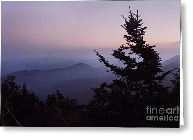 Jonathan Welch Greeting Cards - Black Mountains4 Greeting Card by Jonathan Welch