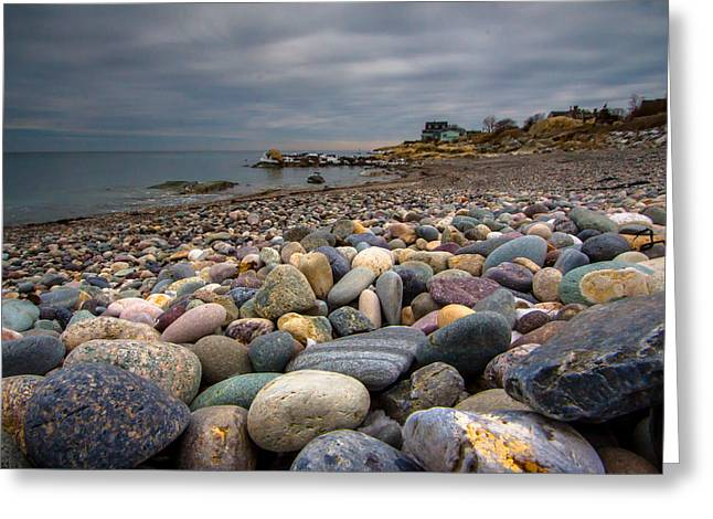 Cohasset Greeting Cards - Black Rock Beach Greeting Card by Brian MacLean