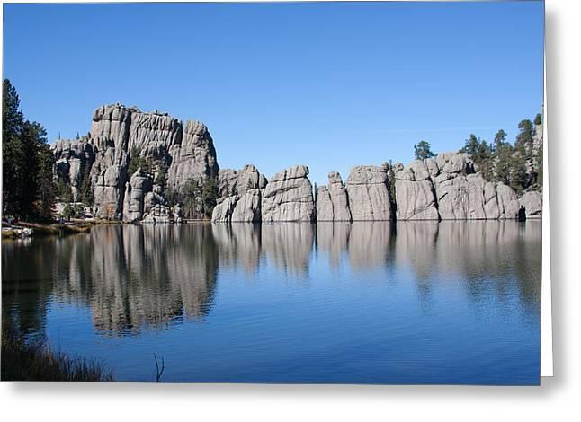 Foliage Photographs Greeting Cards - Black  Rock North Dakota Greeting Card by Robert  Torkomian