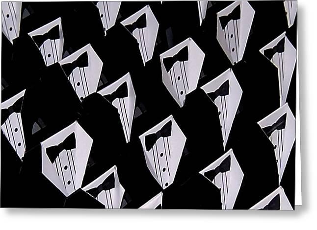 Black Tie Greeting Cards - Black Tie Affair Greeting Card by Steven Milner