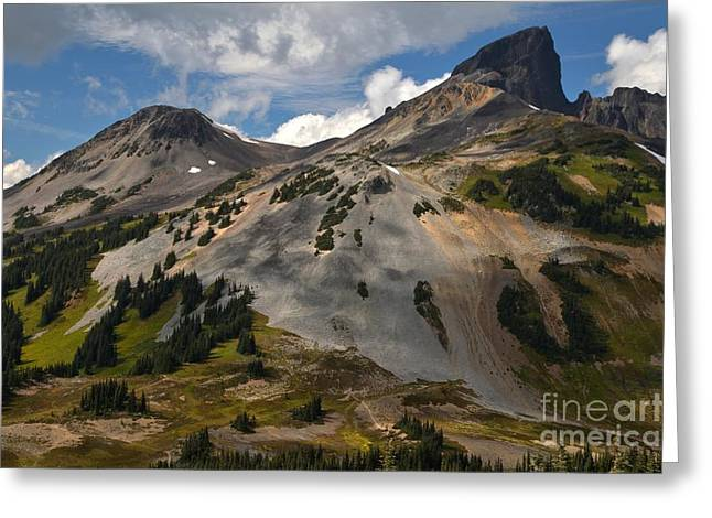 Provincial Park Bc Greeting Cards - Black Tusk At Garibaldi Provincial Park Greeting Card by Adam Jewell