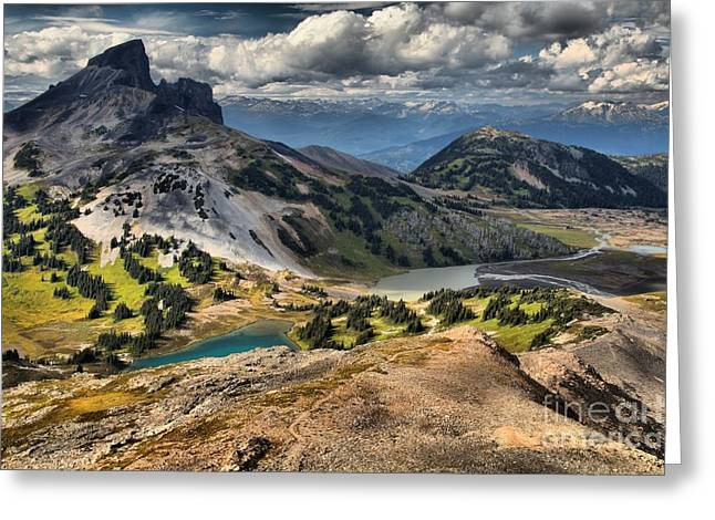Black Tusk Viewpoint Greeting Card by Adam Jewell
