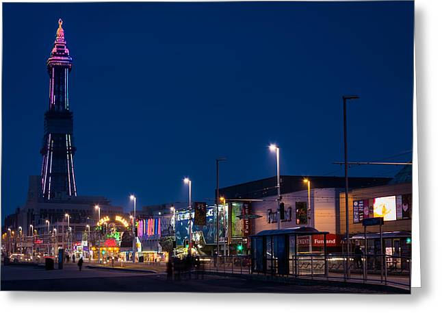 England Greeting Cards - Blackpool Tower. Greeting Card by Daniel Kay
