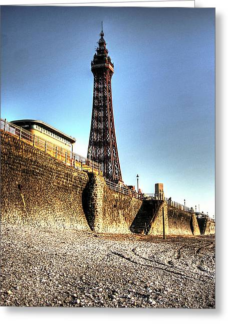 Blackpool Tower - Series 1 Greeting Card by Doc Braham
