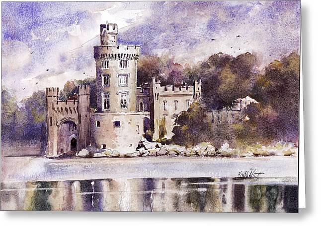 Recently Sold -  - Fineartamerica Greeting Cards - Blackrock Castle Cork County Cork Ireland Greeting Card by Keith W Thompson
