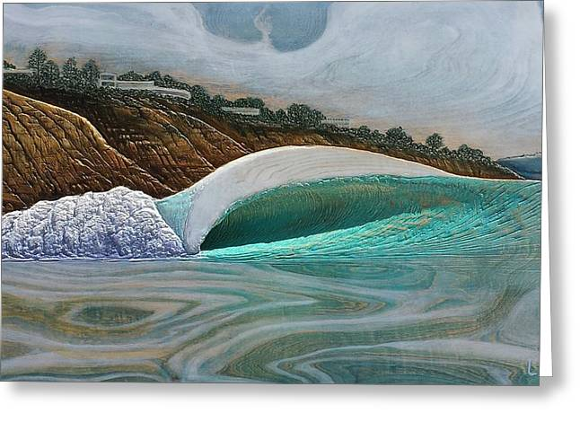 California Reliefs Greeting Cards - Blacks Beach Greeting Card by Nathan Ledyard