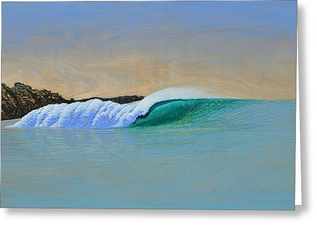 Ocean Reliefs Greeting Cards - Blacks Greeting Card by Nathan Ledyard