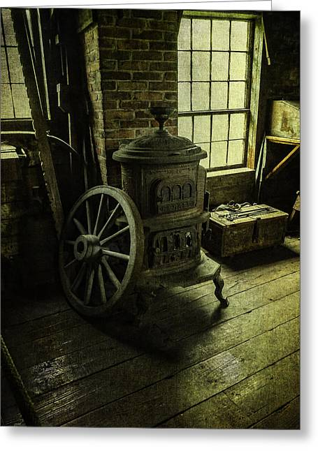 Tool Chest Greeting Cards - Blacksmith Shop Greeting Card by Kim Swanson