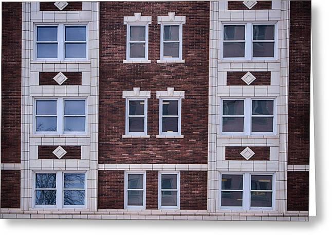 Renaissance Center Greeting Cards - Blackstone Building #2 - Omaha - Nebraska Greeting Card by Nikolyn McDonald