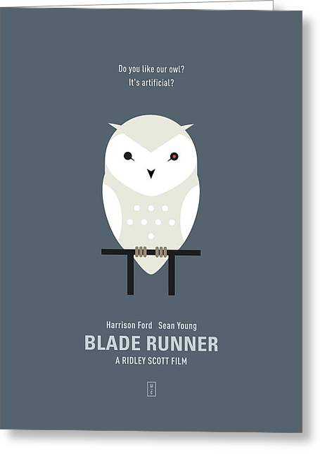 Sean Digital Art Greeting Cards - Blade Runner Greeting Card by Smile In The  Mind
