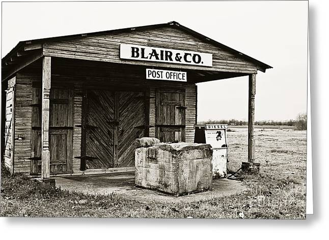 North Louisiana Greeting Cards - Blair and Co. Greeting Card by Scott Pellegrin