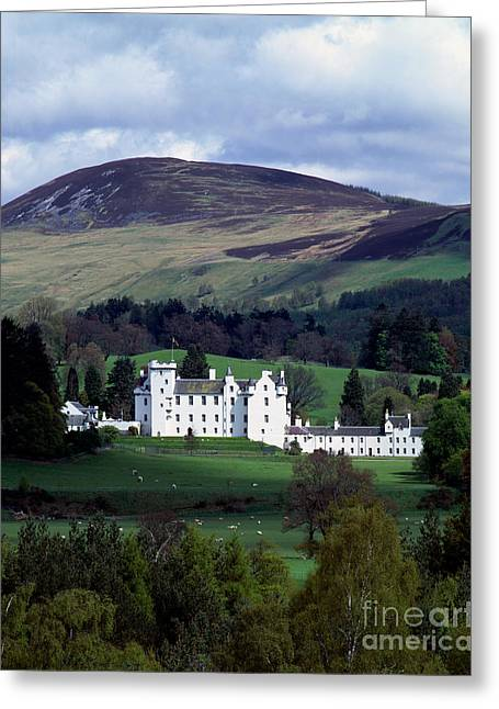 Blair Greeting Cards - Blair Castle Greeting Card by Rafael Macia