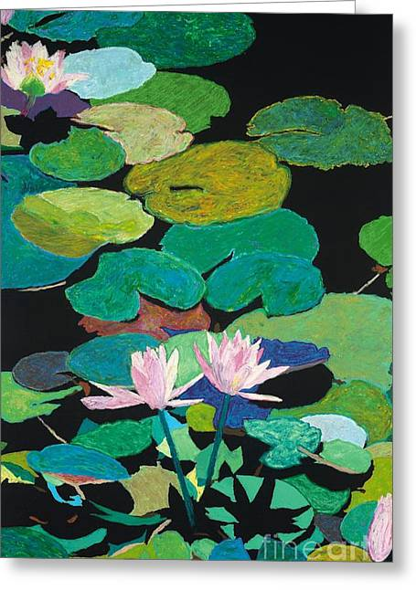 Recently Sold -  - Flower Design Greeting Cards - Blairs Pond Greeting Card by Allan P Friedlander