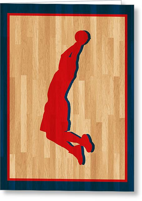 Blake Griffin Greeting Cards - Blake Griffin Los Angeles Clippers Greeting Card by Joe Hamilton