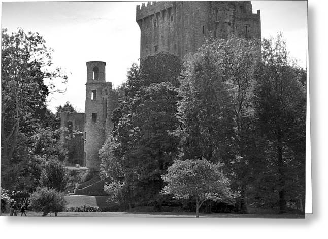 """""""square Art"""" Greeting Cards - Blarney Castle Greeting Card by Mike McGlothlen"""