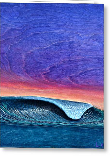 California Reliefs Greeting Cards - Blaze Greeting Card by Nathan Ledyard