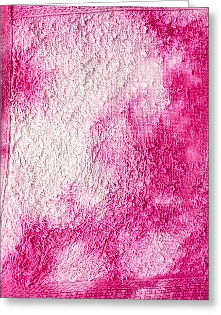 Abstract Style Greeting Cards - Bleach stains Greeting Card by Tom Gowanlock