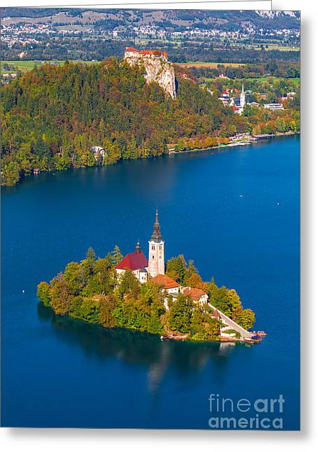 Bled Greeting Cards - Bled 09 Greeting Card by Tom Uhlenberg