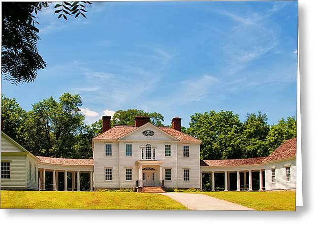 Historical Pictures Greeting Cards - Blennerhassett Mansion Greeting Card by Chris Flees