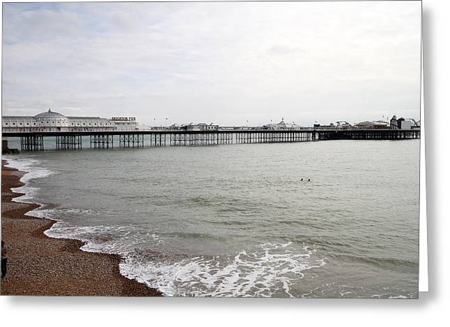 Jeremy Greeting Cards - Bless The Sea Greeting Card by Jez C Self