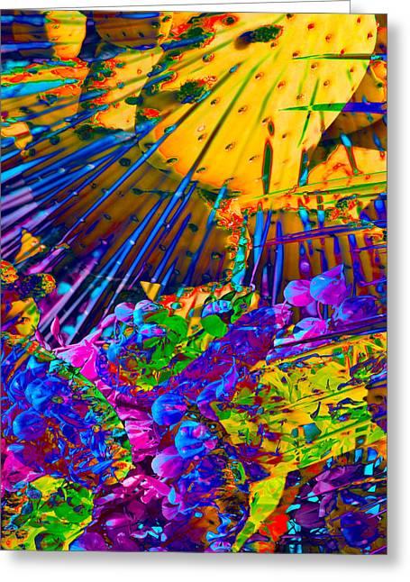 Nature Study Digital Art Greeting Cards - Blessing Greeting Card by Steve  Ferguson