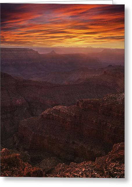 Blind Eyes Greeting Cards - Blind Eyes Greeting Card by Peter Coskun
