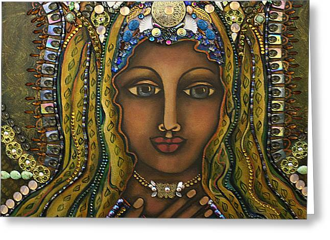 Visionary Artist Greeting Cards - Bliss Greeting Card by Marie Howell Gallery