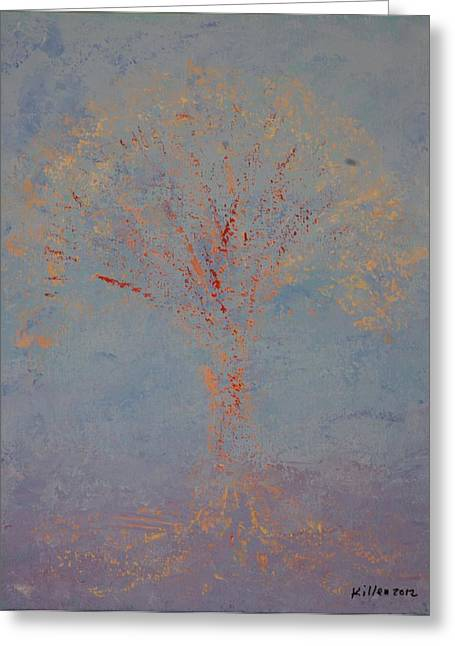 Pallet Knife Greeting Cards - Bliss Greeting Card by William Killen