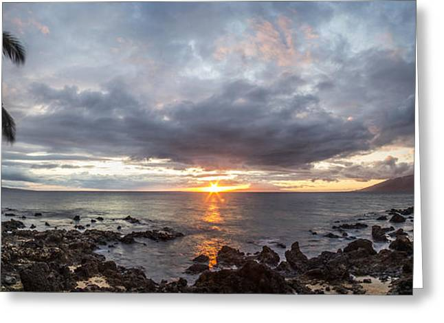 Blissful Shores Greeting Card by Brad Scott