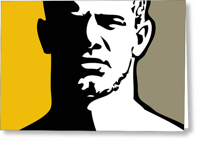 Chris Lopez Greeting Cards - Blond Greeting Card by Chris  Lopez