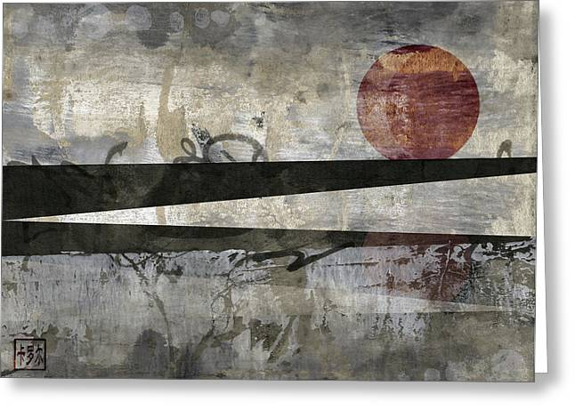 Eclipse Greeting Cards - Blood Moon Greeting Card by Carol Leigh