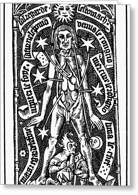 1518 Greeting Cards - Bloodletting, 1518 Greeting Card by Granger