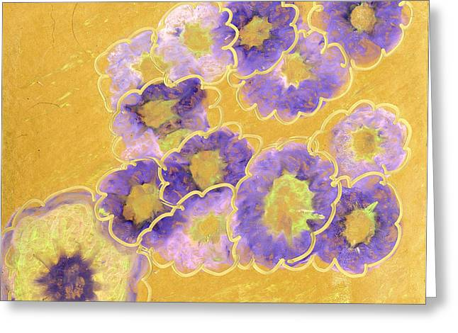 Metal Art Pastels Greeting Cards - Bloom where You are Planted Greeting Card by Kristen Plante