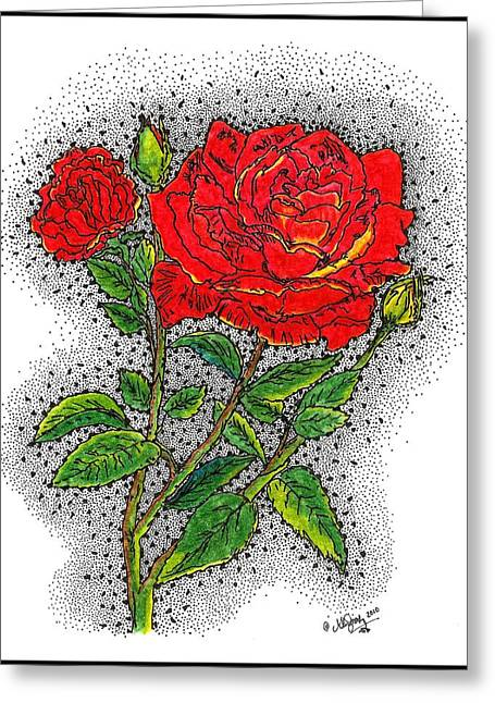 Scripture Drawings Greeting Cards - Blooming Too Greeting Card by Glenn McCarthy Art and Photography