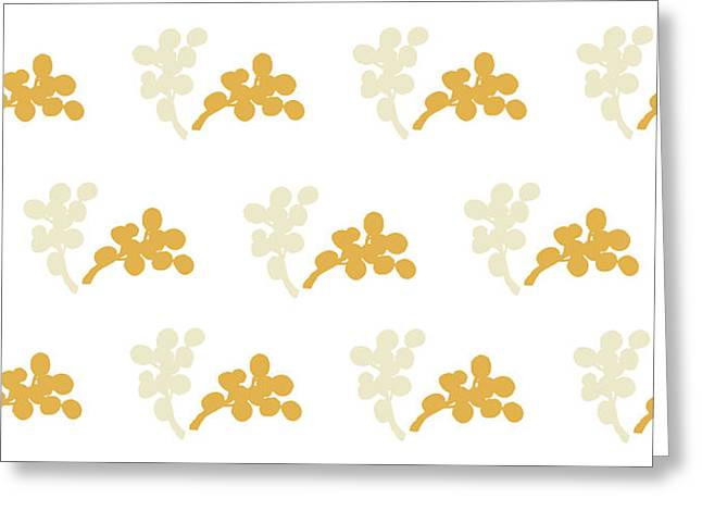 Modern Flowers Greeting Cards - Blossom DII Greeting Card by Carmen Guedez