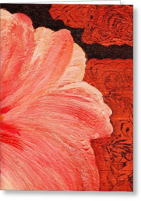 Blossom Emerging Greeting Card by Anne-Elizabeth Whiteway